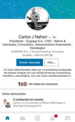 Carlos J. Nahón