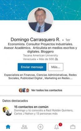 Domingo Carrasquero R.