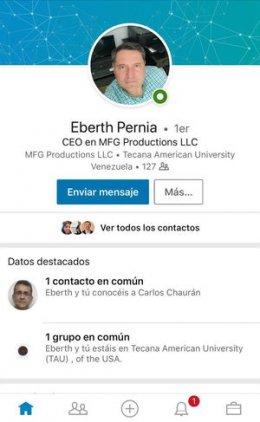 Eberth Pernía