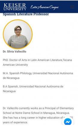 Silvia Vallecillo